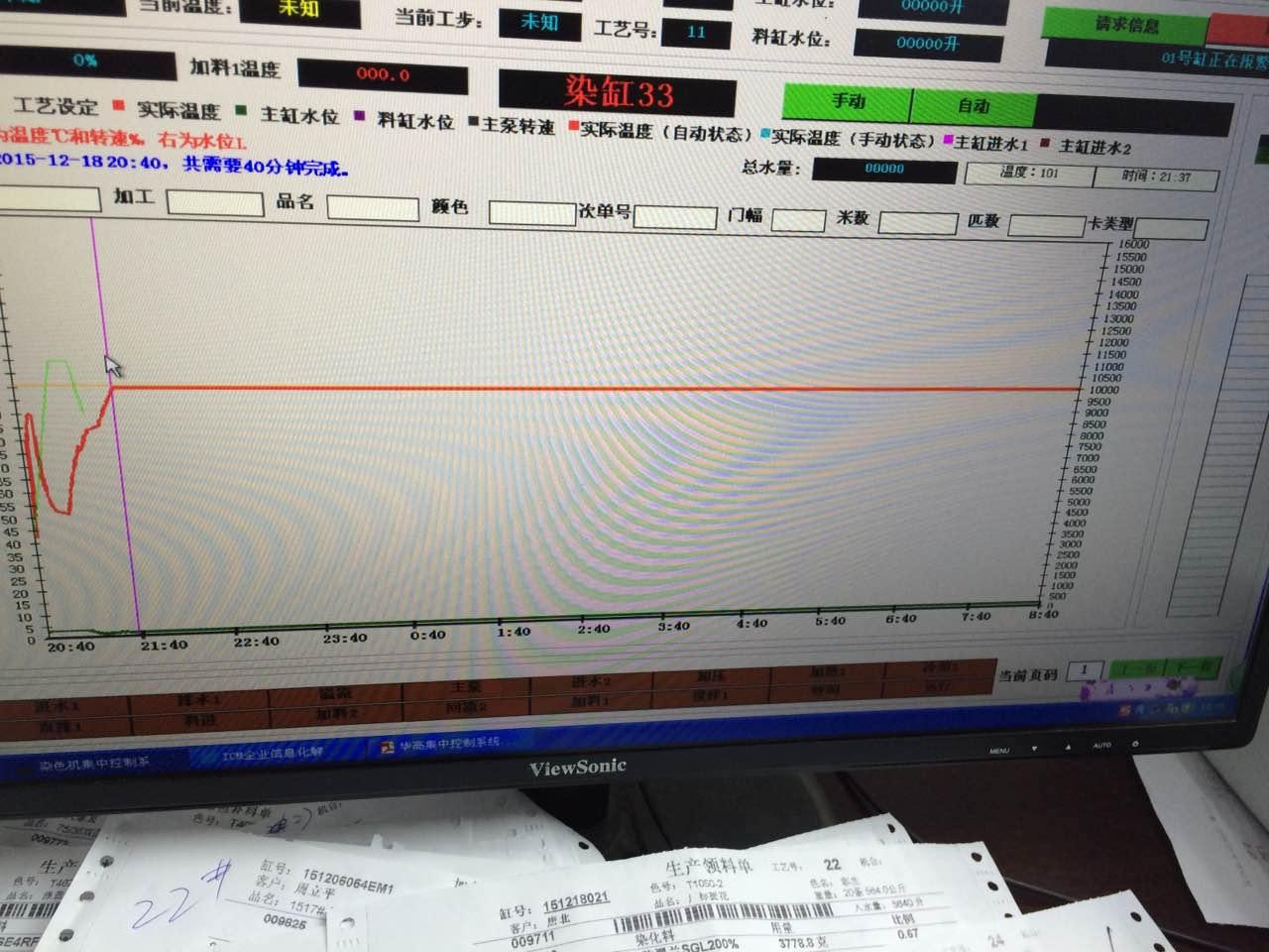 染色中央监控管理系统
