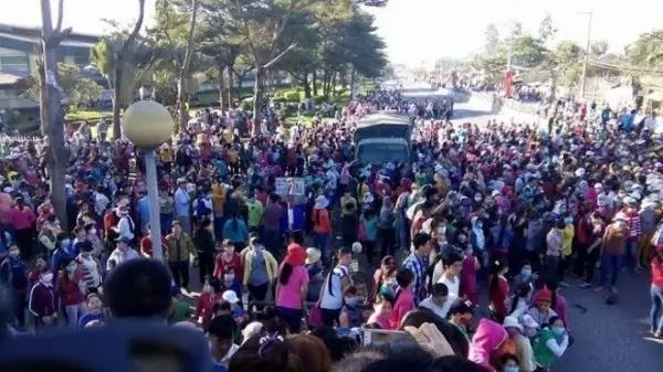 宝成工厂1.7万人大罢工,外迁越南,还需深思——染色集中控制系统