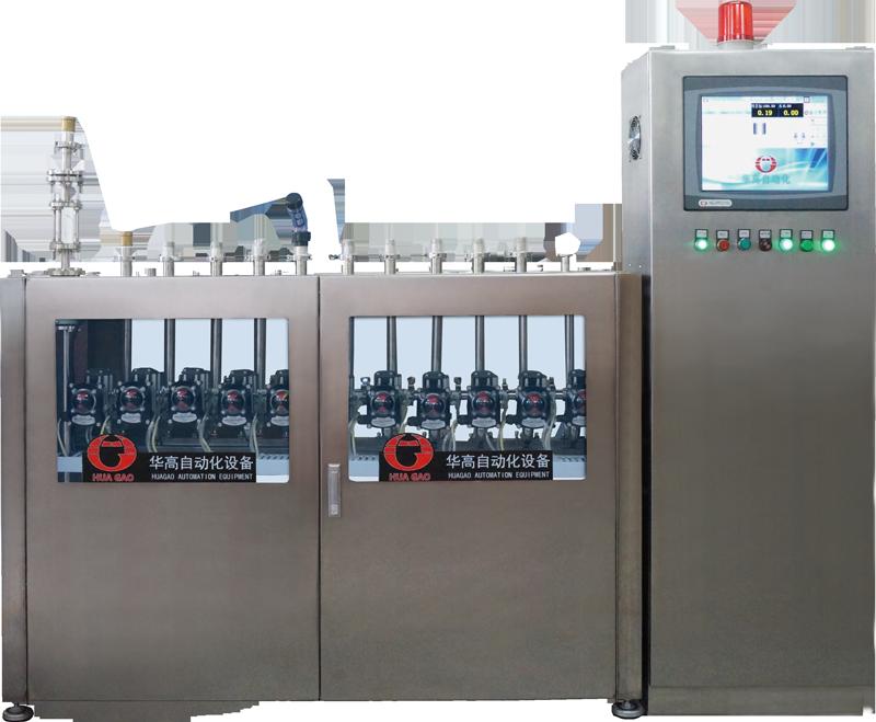 定型机液体助剂自动配送系统