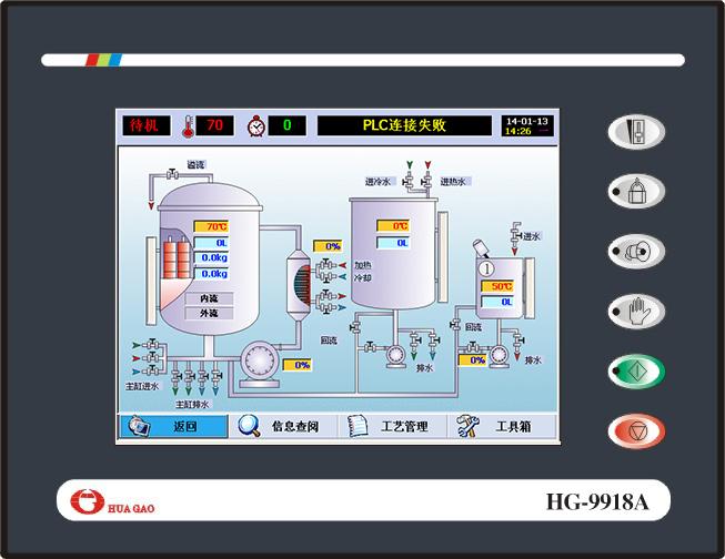 HG-9918A触摸屏染色机控制电脑