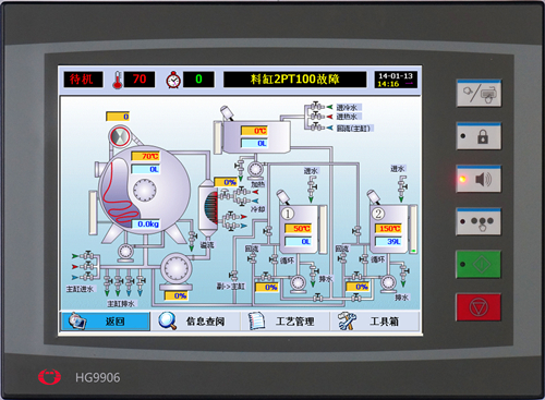 HG-9906触摸屏染色机控制电脑