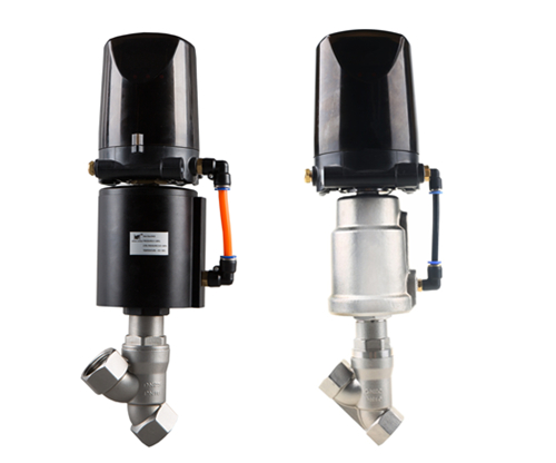定量加料阀/带定位器不锈钢气动调节座阀